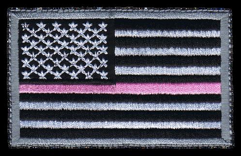 American Flag - Pink Line Flag (Subdued)