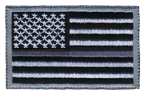 American Flag - Grey Line Flag (Subdued)