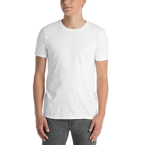Custom Unisex T-Shirt (White) (Front & Back Design) 1-20 pieces