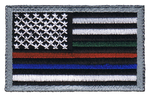 American Flag - Multiple Line Flag (Subdued)