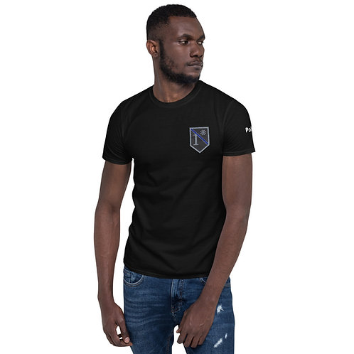 Police 1 Ass To Risk - Short-Sleeve Unisex T-Shirt