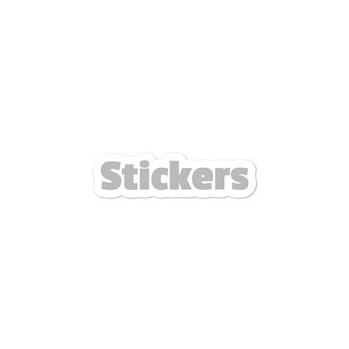Custom Bubble-free stickers