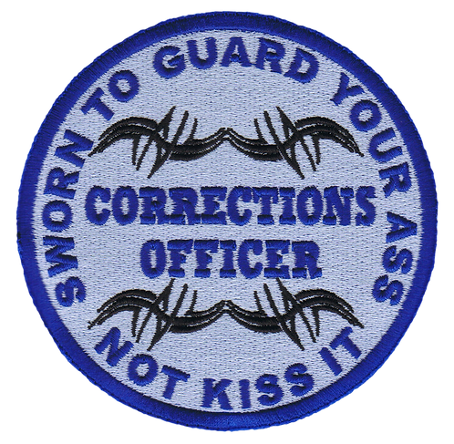 Corrections Officer Patch