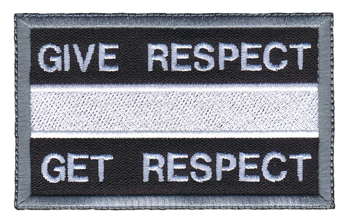 Give Respect Get Respect - Civilian White