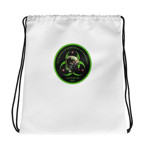 Essential Worker Drawstring bag