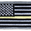 Thumbnail: American Flag - Yellow Line Flag (Subdued)