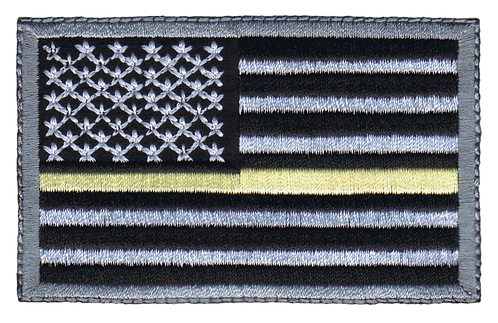 American Flag - Yellow Line Flag (Subdued)
