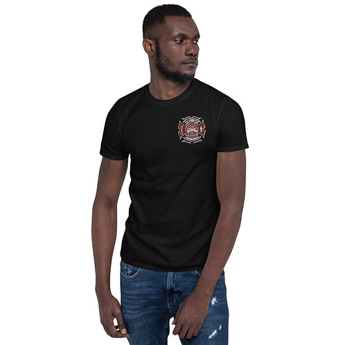 Fire - Thin Red Line Short-Sleeve Unisex T-Shirt