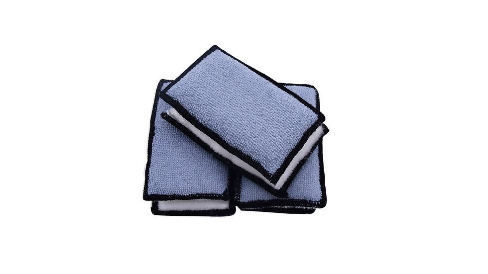 Interior Microfibre Scrub Pad (4 Pack)