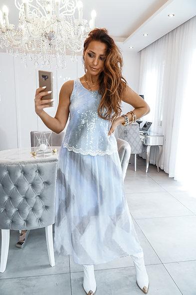 Sukienka Noelle Błękitna