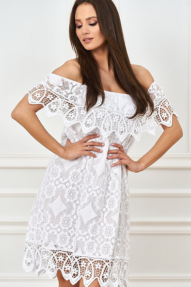 Spanish dress made of lace