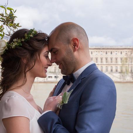 Mariage végétal et minéral- Alexandra & Romain