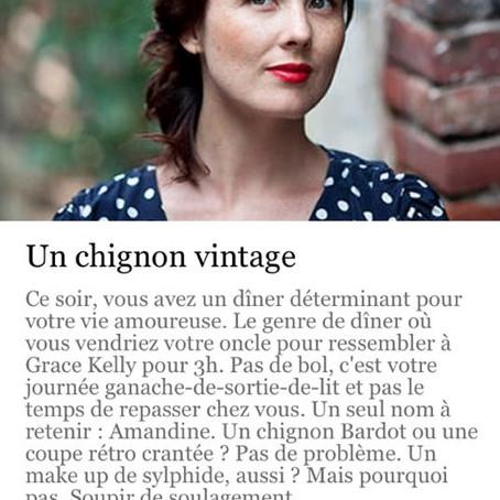 Amandine recommandée par My Little Paris!