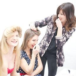 atelier coiffure paris, EVJF, anniversaire, baby shower, s'amuser entre filles, cadeau original, accessoire de tête