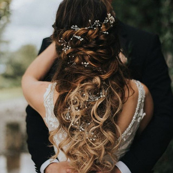 Mira wedding hair