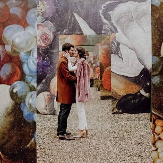Mariage d'hivers rétro Adeline & Lionel