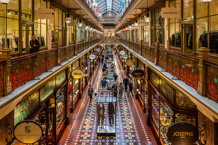 Queen Victoria Building Arcade Sydney