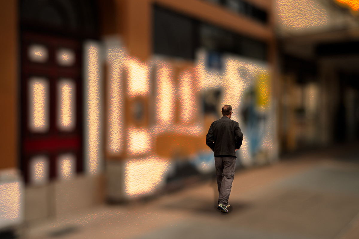 Walking in an Abstracted World