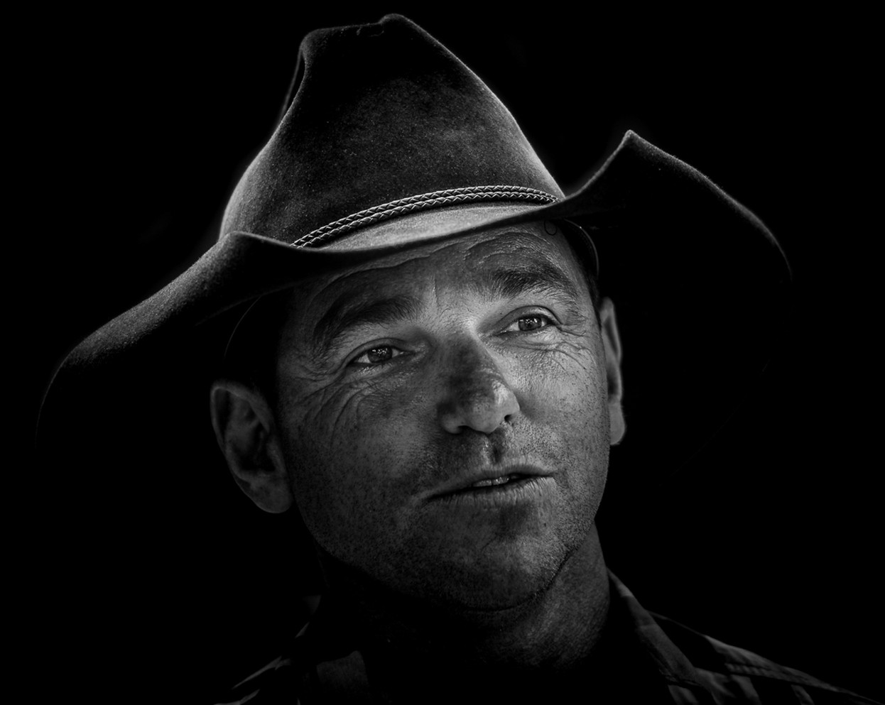 Portrait Cattle Rancher