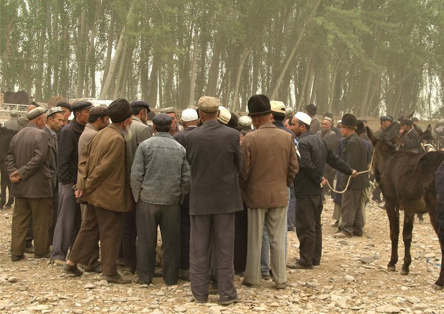 Early Morning at the Kashgar Markets