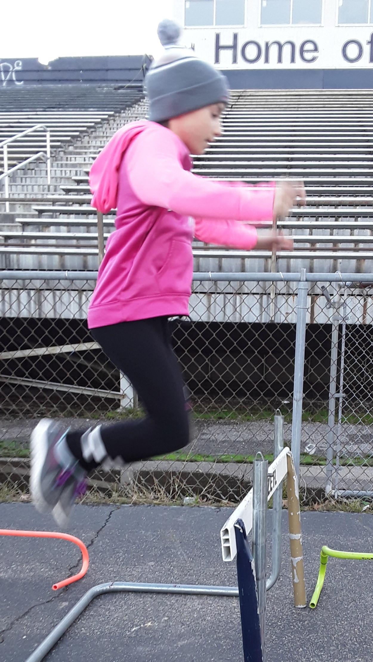 Long, Triple or High Jump training