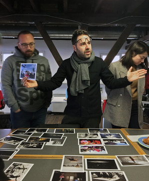 'Fotoğraflarla Anlatı Kurmak' atölyesinden