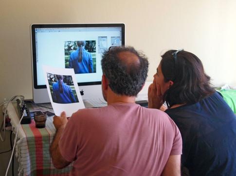 Editing atölyesi, Çanakkale, Türkiye, Ağustos 2012