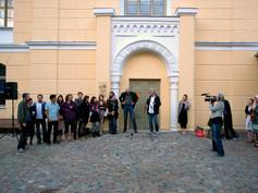 Letonya atölyesinden, Ağustos 20124-12 Ağustos, Letonya atölyesinden