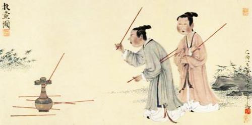投壺 民俗遊戲 傳統運動