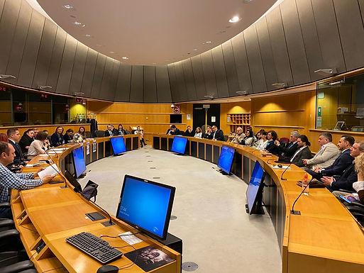 """""""ROMÂNIA DINCOLO DE GRANIȚE"""" - Conferință în Parlamentul European"""