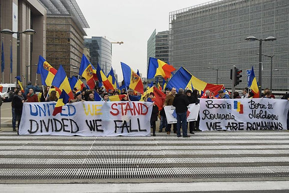 Pro-Unionist Rally in the Heart of the European Union