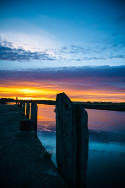 Sunset On The Boyne