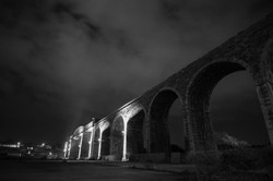 Viaduct At Night