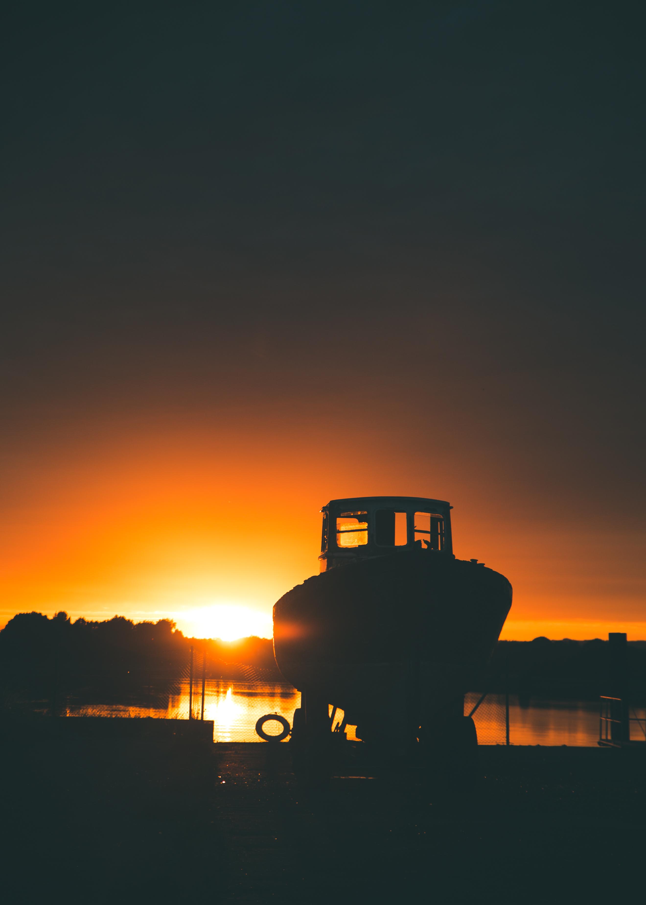Old Pilot Boat, Boyne Estuary