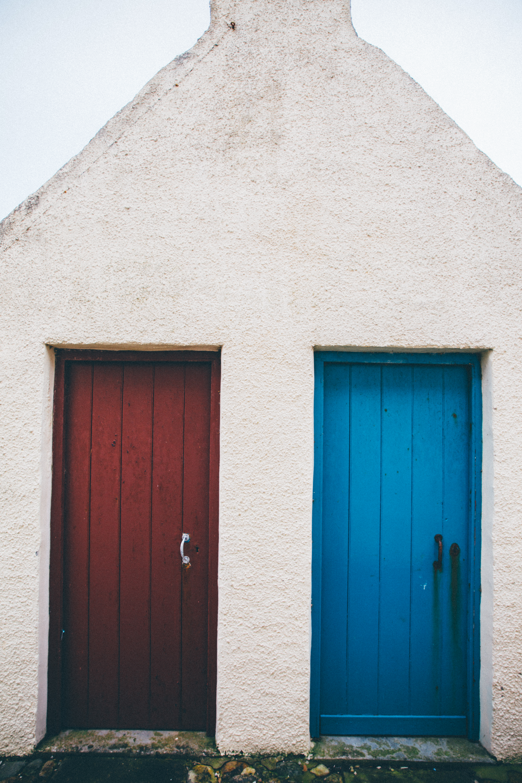 Portsoy Doors, Scotland
