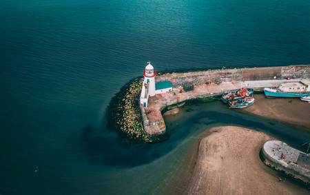 Drone Photography - Balbriggan Harbour