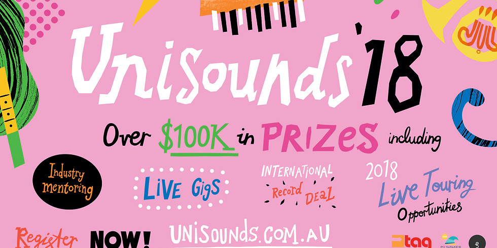 Unisounds '18 - over 100k of prizes up for grabs