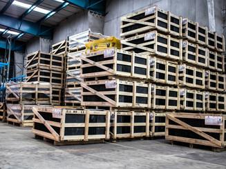 Rohstofftransporte zur Produktion
