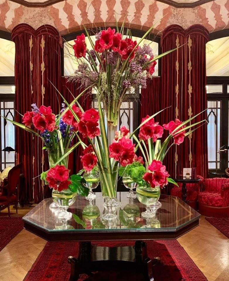 Pera Palace Hotel Flowers