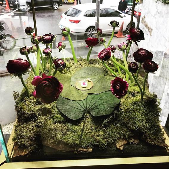 Midnight Express Bebek Event Design by Parla Flower Art