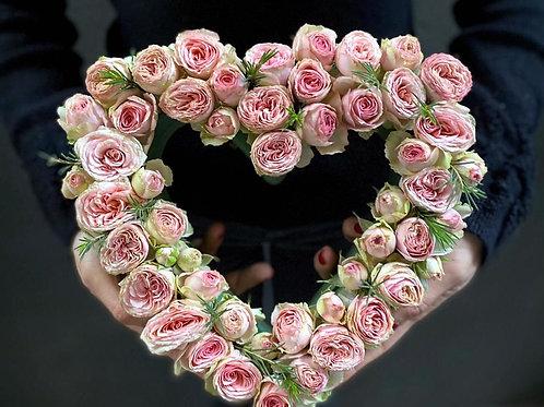 Pembe Kalp Aşk Aranjmanı