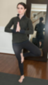 yoga pilates crown of head tall lengthening posture