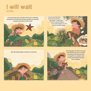 I Will Wait by Vonne