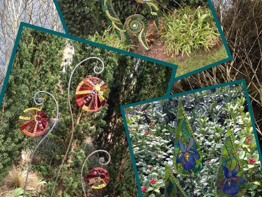 Primrose Mosaics @ Showborough House Gardens