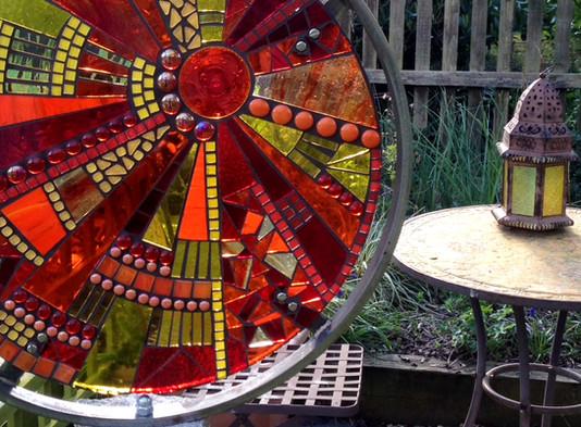 Sunburst @ Showborough Gardens Sculpture Exhibition