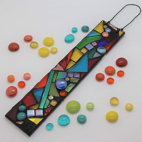 Colour Mix Garden Pendant: Glass Hanging Mosaic