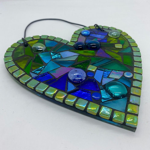 Green : Glass Hanging Garden Suncatcher