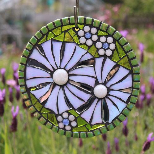 Flower : Glass Hanging Garden Mosaic