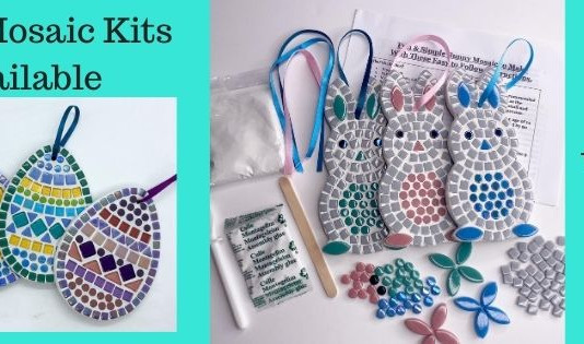 Easter Mosaic Kits NOW Available