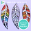 Thumbnail: Feather: Outdoor Mosaic Base Substrate - Clear Acrylic Perspex